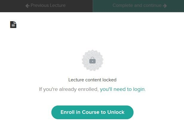 Teachable free preview course