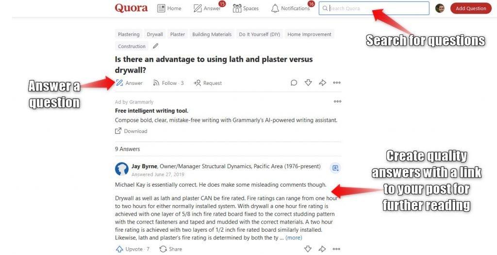 Quora example