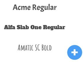 Doodly font styles