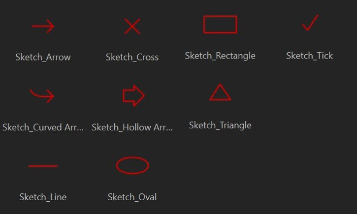 DemoCreator sketch animations