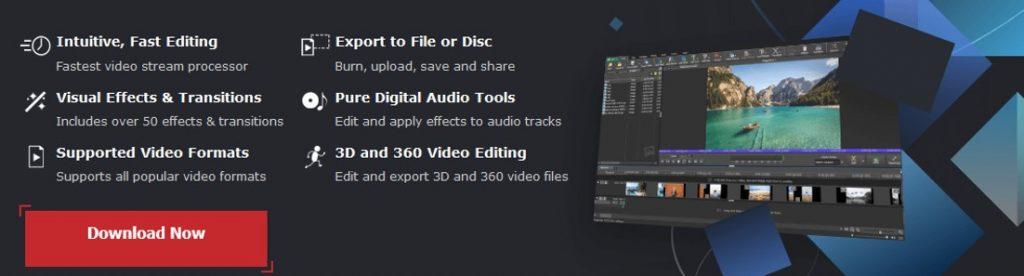 VideoPad homepage