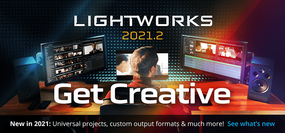 Lightworks homepage