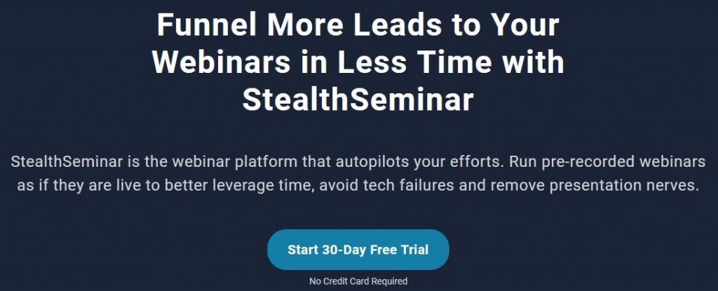 StealthSeminar homepage